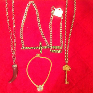 Other - Unisex Chunky Jewelry Lot